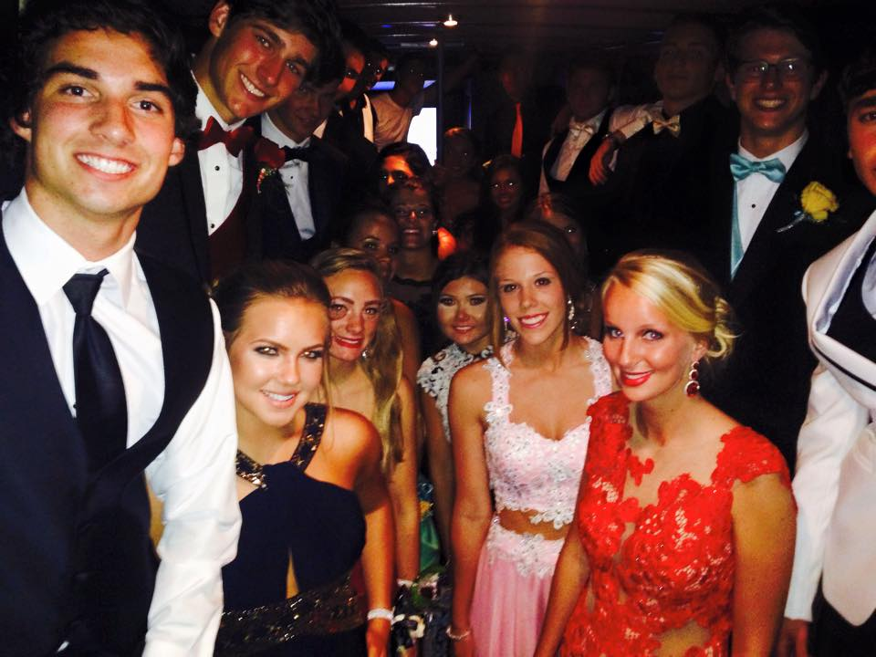 prom party bus