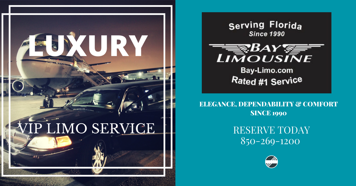 Limousine Transportation by Bay Limo of Destin